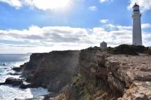 Vistes de Cape Nelson i el seu far