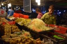 Parada de menjar a Night Market
