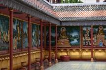Murals amb relleu al Wat Preah Prom Rath