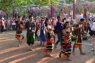 Balls tradicionals a Angkor Sankranta 2018