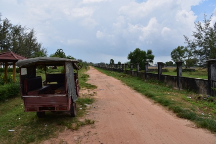 Molts dels carrers de Sihanoukville són així