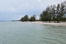 Otres Beach, la zona 1