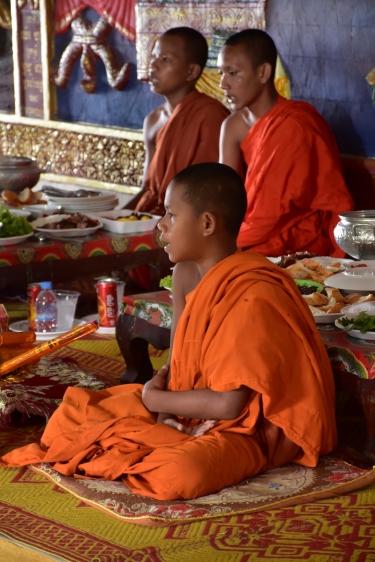Monjos al Wat Sampov 5 Pagoda