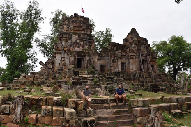 Ek Phnom Temple, més antic que Angkor Wat