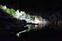 Entrada de la cova
