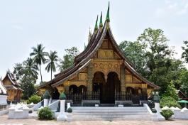 Un dels temples de Wat Xieng Thong