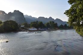 Vistes del riu Nam Xong