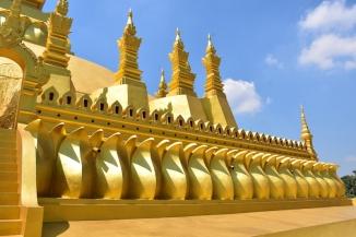 Detall de Pha That Luang