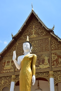 Un dels múltiples temples de Vientaine