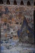 Detall d'un dels murals del Sisaket Temple
