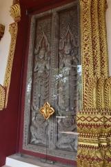 Una porta d'uns 458 anys d'antiguitat