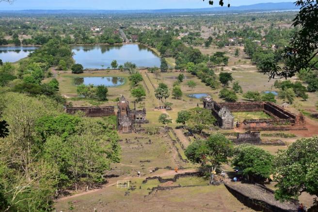 Vistes del complex Wat Phou