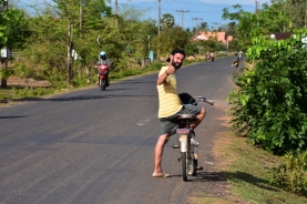 De camí a Wat Phou